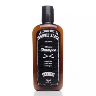 Johnnie Black Kit Shampoo Oil Control, Óleo e Pomada Barba