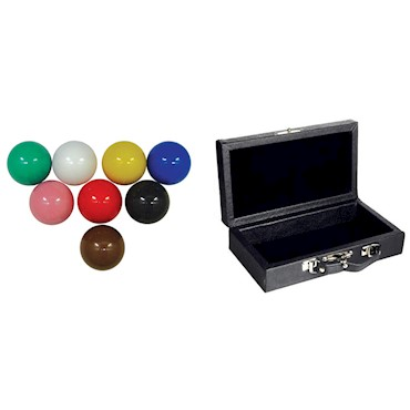 Bola Snooker + Estojo Kit